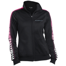 Muscle Boater LST93 Sport-Tek Ladies' Dot Print Warm Up Jacket