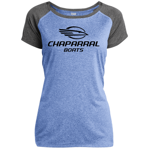 Classic Style Chaparral Boats LST362 Ladies Heather on Heather Performance T-Shirt