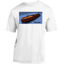 Vintage Chris Craft Runabout by Retro Boater  Sport-Tek Youth Moisture-Wicking T-Shirt
