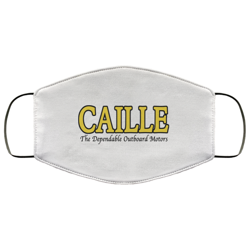 Caille Outboard Motors FMA Face Mask by Retro Boater