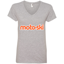 Moto-Ski Anvil Ladies' V-Neck T-Shirt
