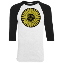 Sunflower Boats by Retro Boater 420 Augusta Colorblock Raglan Jersey