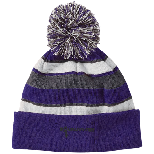 Dock Buster Knit Hat with Pom