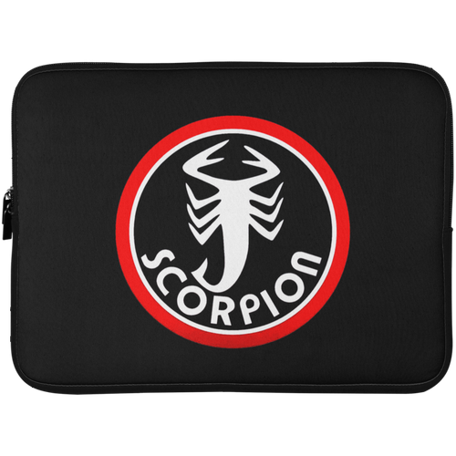 Vintage Scorpion Snowmobile Laptop Sleeve - 15 Inch