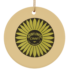 SUBORNC Ceramic Circle Ornament