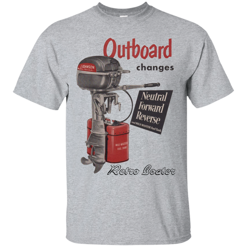 Vintage Johnson Outboard Gildan Ultra Cotton T-Shirt