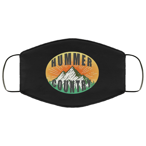 Hummer Country FMA Face Mask by SpeedTiques