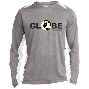 Globe Mastercraft by Retro Boater ST361LS Sport-Tek LS Heather Colorblock Poly T-Shirt