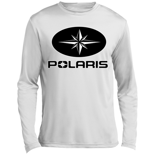 Vintage Polaris Snowmobiles ATV Long sleeve Moisture Absorbing T-Shirt