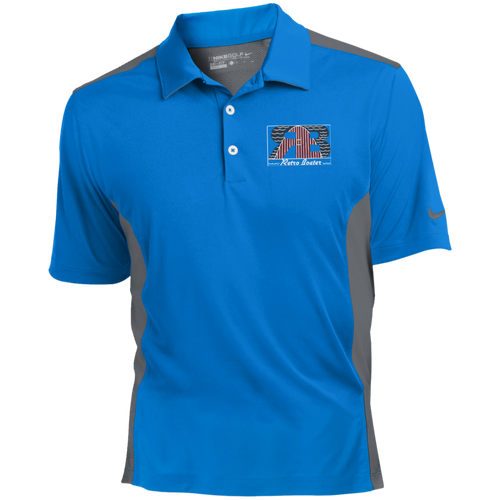 Retro Boater Logo Nike Golf Dri-Fit Colorblock Mesh Polo