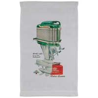 Mercury Outboard Engine Co. Kitchen Towel - 11 x 18 Inch