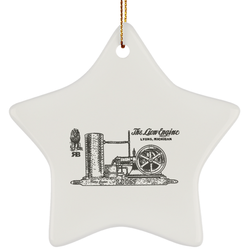 Lionel Engine Co. by Retro Boater SUBORNS Ceramic Star Ornament