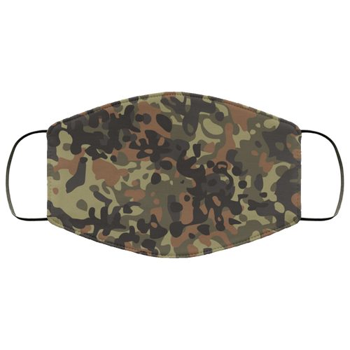 Camo Camouflage Brown Green Tan FMA Face Mask