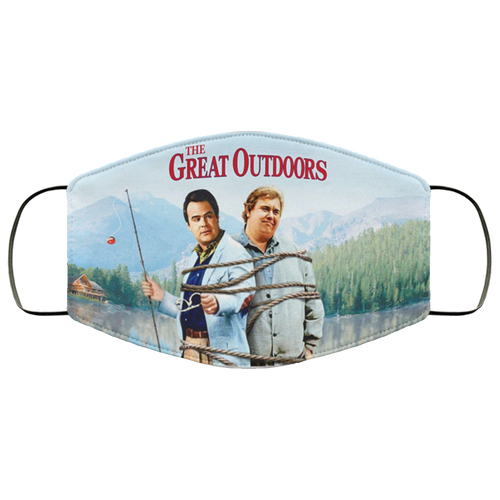 The Great Outdoors Movie Dan Akroyd John Candy FMA Face Mask