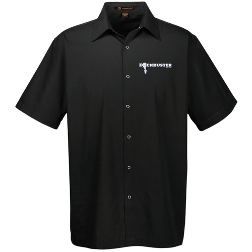 Dock Buster by Retro Boater M545 Harriton Men's Snap Closure Short Sleeve Shirt