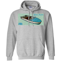 Arkansas Traveler by Retro Boater G185 Gildan Pullover Hoodie 8 oz.