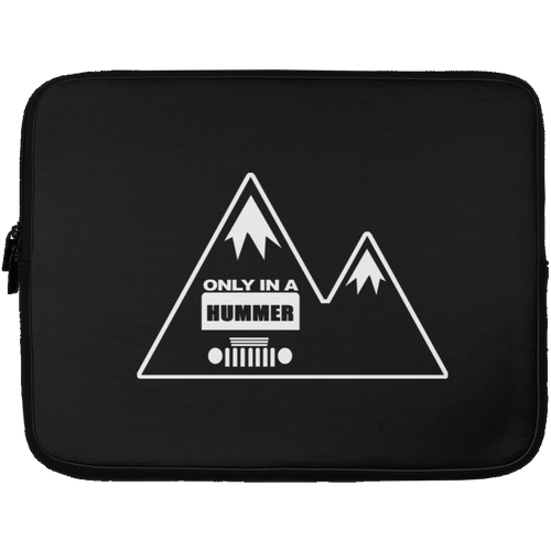 Classic Only in a Hummer with Mountains 72041 Laptop Sleeve - 13 inch