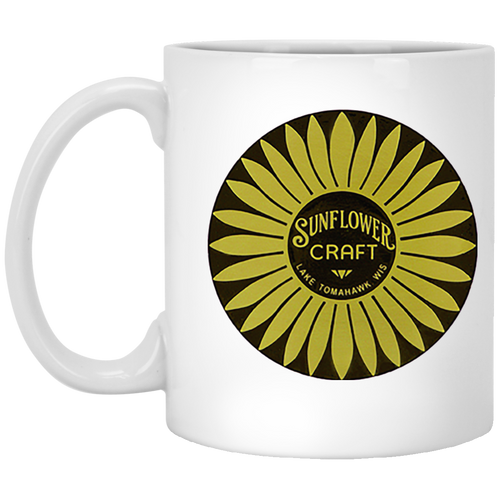 Sunflower Boats by Retro Boater XP8434 11 oz. White Mug