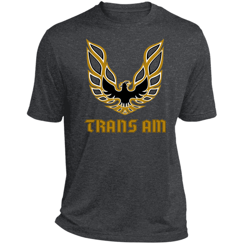 Classic Trans Am Firebird Pontiac Bird Heather Dri-Fit Moisture-Wicking T-Shirt