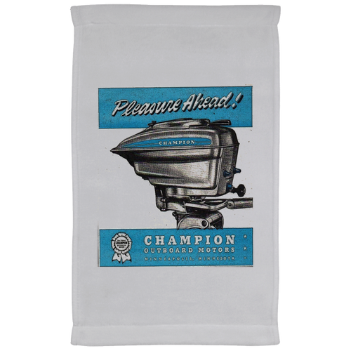 Champion Outboard Co.  Towel - 11 x 18 Inch