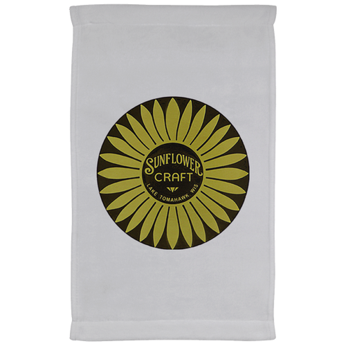 Sunflower Boats by Retro Boater Kitchen Towel - 11 x 18 Inch