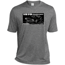 1970 Dodge Challenger Sport-Tek Heather Dri-Fit Moisture-Wicking T-Shirt