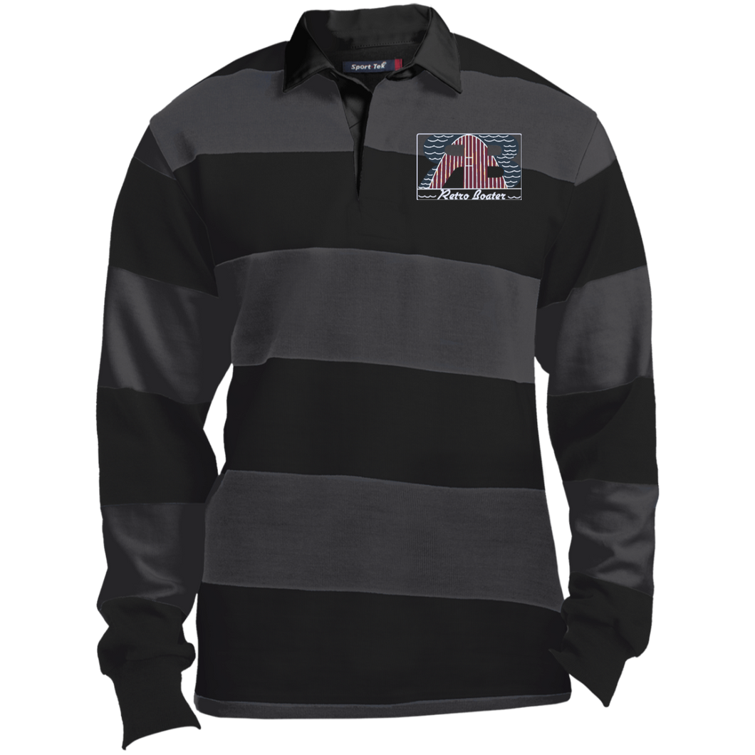 ST301 Sport-Tek LS Rugby Polo