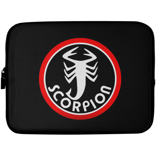 Vintage Scorpion Snowmobile Laptop Sleeve - 10 inch