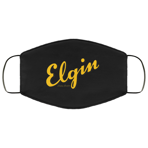 Vintage Elgin Boats FMA Face Mask by Retro Boater