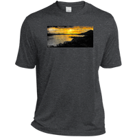 Clear Lake CA by Classic Boater  Sport-Tek Heather Dri-Fit Moisture-Wicking T-Shirt
