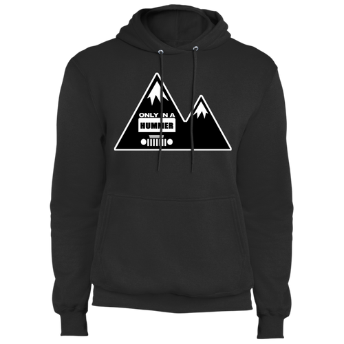 Classic Only in a Hummer with Mountains Core Fleece Pullover Hoodie