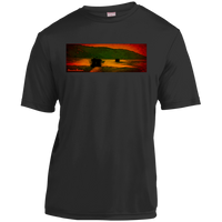 Sunset Lake Cruise by Classic Boater  Sport-Tek Youth Moisture-Wicking T-Shirt
