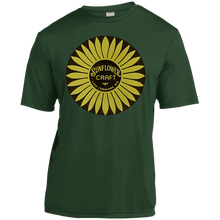 Sunflower Boats by Retro Boater YST350 Sport-Tek Youth Moisture-Wicking T-Shirt