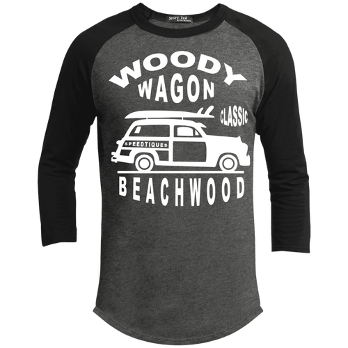 Speedtiques Woody Wagon Sport-Tek Sporty T-Shirt