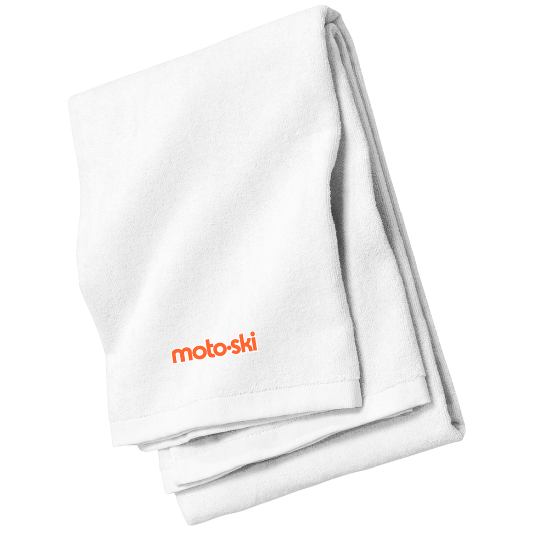 Moto-Ski  Port & Co. Beach Towel
