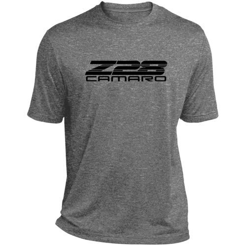 1980s Style Classic Chevy Camaro Z28 Badging Heather Dri-Fit Moisture-Wicking T-Shirt