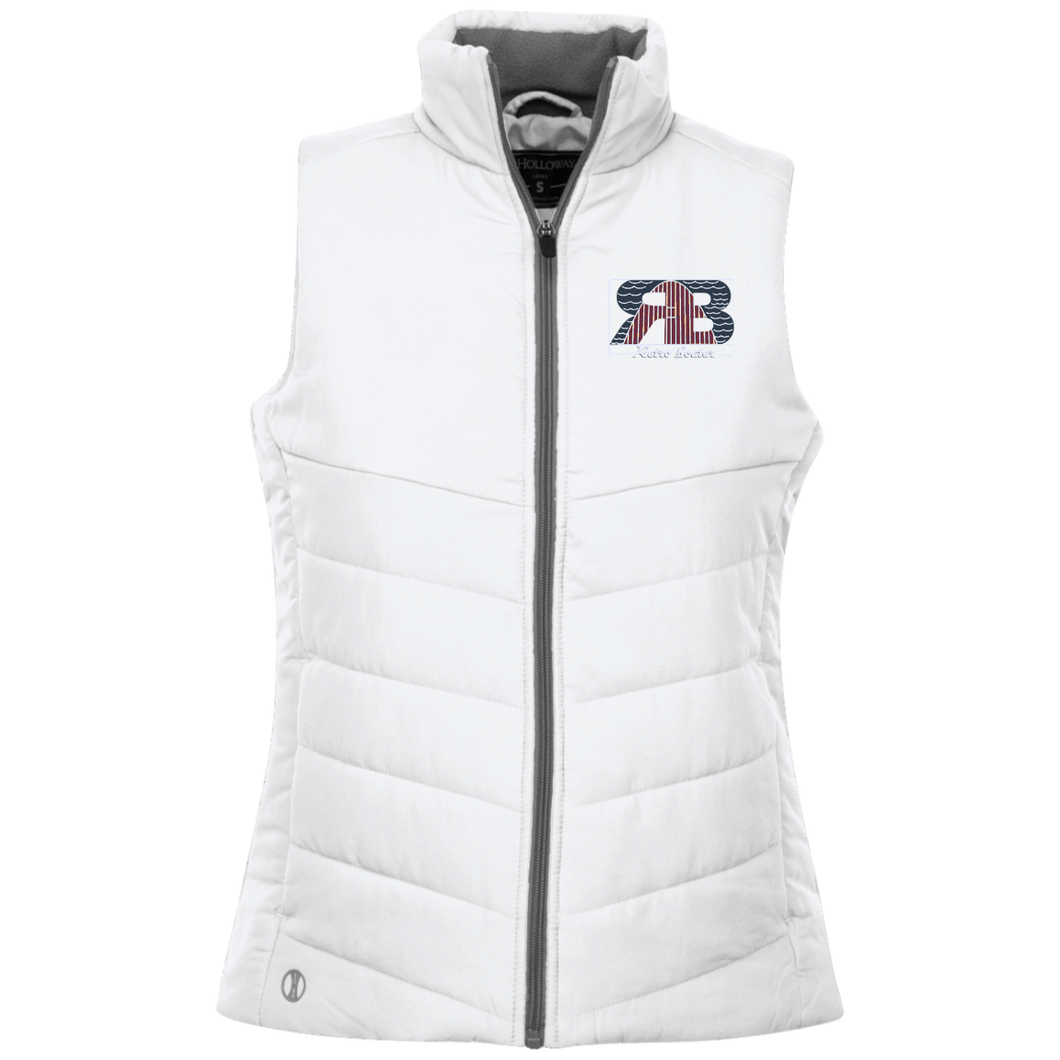 Retro Boater Logo Holloway Ladies' Quilted Jacket Vest