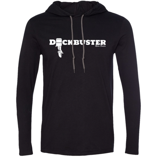 Dock Buster Outboard by Retro Boater 987 Anvil LS T-Shirt Hoodie