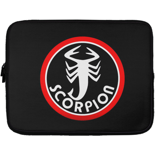 Vintage Scorpion Snowmobile Laptop Sleeve - 13 inch
