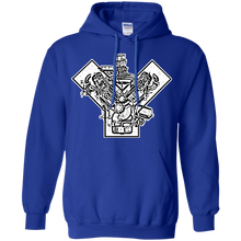 Ford Y-Block by Retro Boater G185 Gildan Pullover Hoodie 8 oz.
