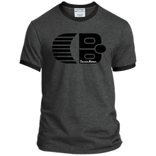 Classic Boater Logo  Port & Co. Ringer Tee