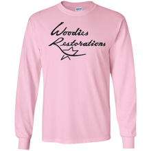 Woodies Restorations Logo G240 Gildan LS Ultra Cotton T-Shirt