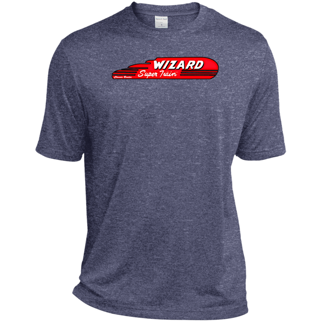 Wizard Super Twin by Classic Boater Sport-Tek Heather Dri-Fit Moisture-Wicking T-Shirt