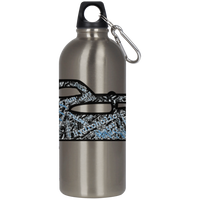 Retro Boater Cruiser Art 23624 Stainless Steel Silver Water Bottle