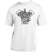Ford Y-Block by Retro Boater YST350 Sport-Tek Youth Moisture-Wicking T-Shirt