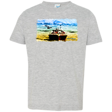 Mountain Lakes Cruise by Classic Boater  Rabbit Skins Toddler Jersey T-Shirt