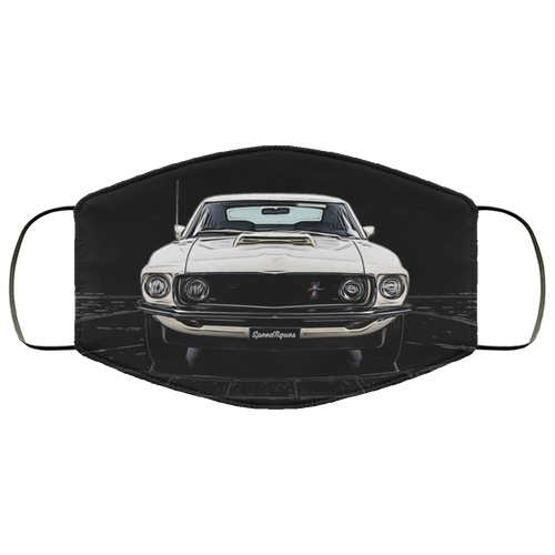 Ford Mustang FMA Face Mask by SpeedTiques