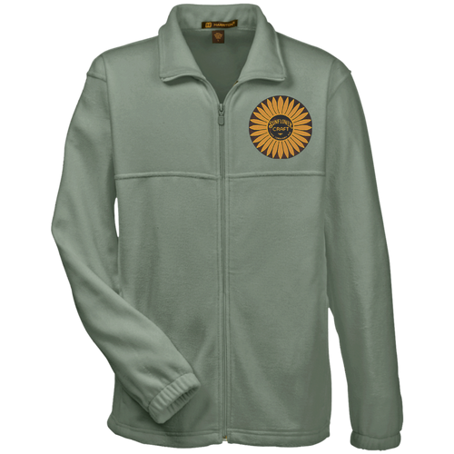 Sunflower Boats by Retro Boater M990 Harriton Fleece Full-Zip