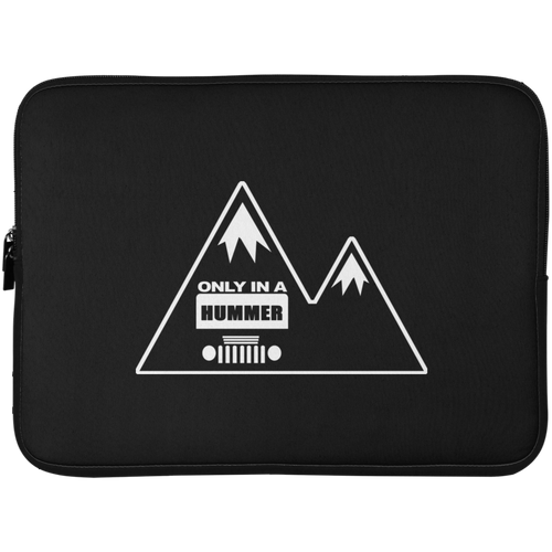 Classic Only in a Hummer with Mountains Laptop Sleeve - 15 Inch