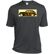 1942 Chrysler Town and Country Barrelback by Speedtiques Sport-Tek Heather Dri-Fit Moisture-Wicking T-Shirt